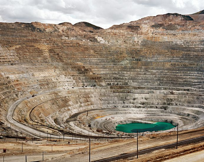 Mines #22 Kennecott Copper Mine, Bingham Valley, Utah 1983