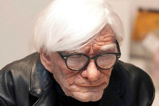 HUH. Magazine - Andy Warhol Aged 83 #andy #sculpture #create #warhol
