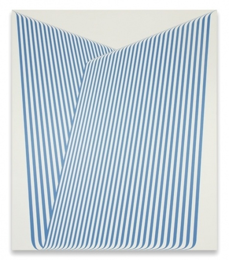 KUTTNER SIEBERT Galerie| Terry Haggerty | Abbildungen #abstract #pattern #lines #graphic #painting #blue