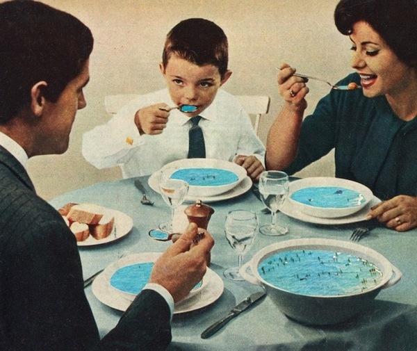 Sammy Slabbinck — Seafood #collage #art