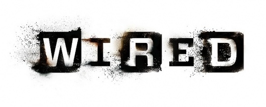 WIRED - More Soon | Flickr - Photo Sharing! #weathered #logo #wired #grunge