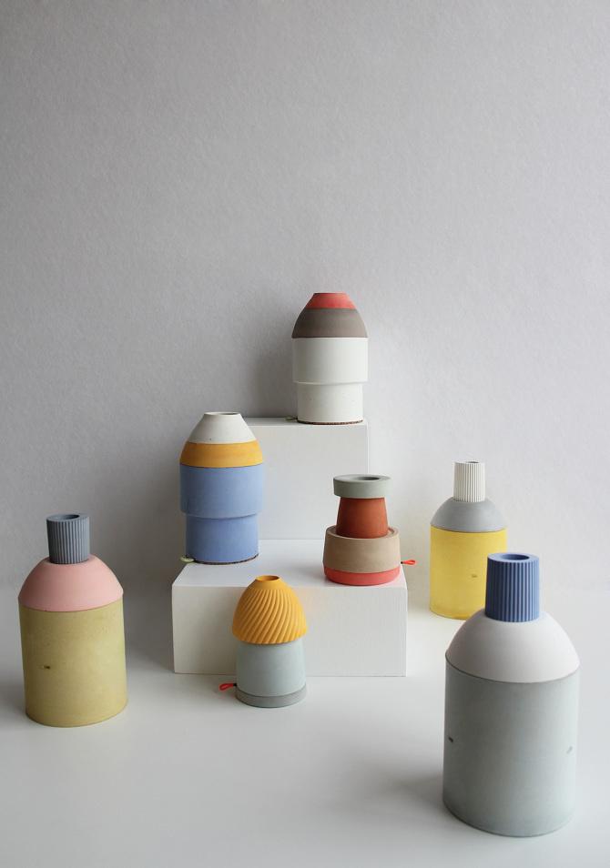 Chimney Containers - Marta Bakowski _ Design
