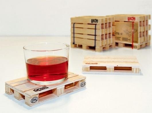 designboom shop: new product - palette coasters #coasters