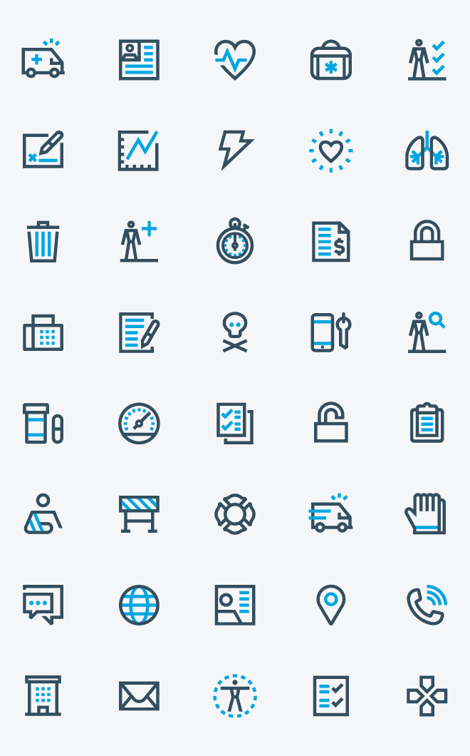 ESO Solutions Icons - Carlos Fernandez #icon #icons #icondesign #iconography #picto #pictogram #symbol #iconset #outline
