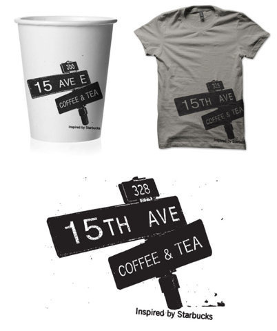 15th Ave Coffee and Tea - TheDieline.com - Package Design Blog #coffee