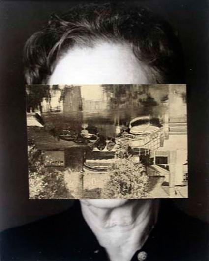 John Stezaker - Old Mask III - Contemporary Art #stezaker #art