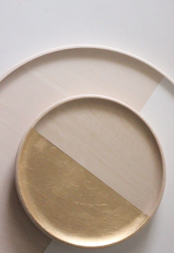 Dipped Trays by The Vintage Vogue #minimalist #design #minimalism