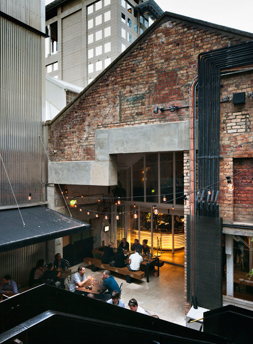 fearon hay architects: imperial buildings revitalization #cafe #conversion #bar