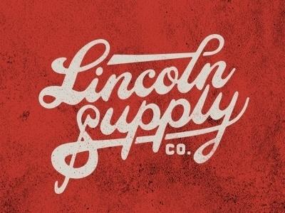 Dribbble - Lincoln - Logo Treatment by Jeremy Paul Beasley #lincoln #logo #beasley #supply #type #jeremy #paul