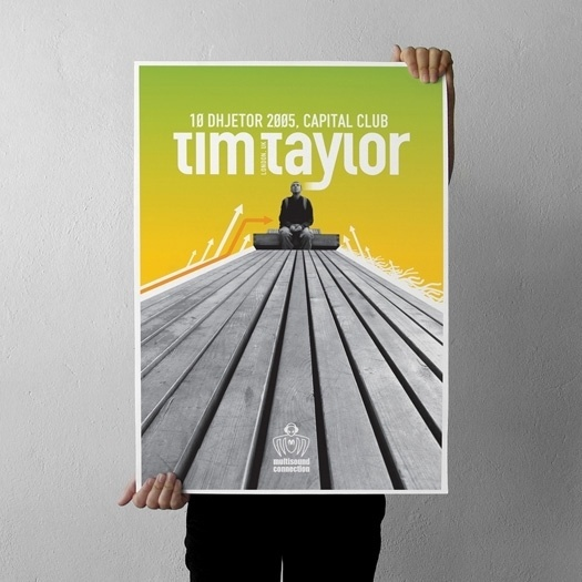 projectgraphics - typo/graphic posters #kosovo #taylor #event #tim #prishtina #projectgraphics #poster