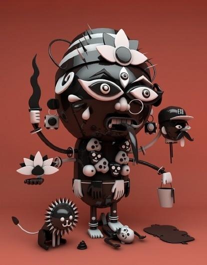Kali - The Pressure #illustration