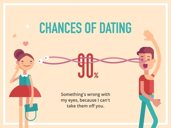 Chance Of Dating by Alexey Kuvaldin #flat #inspiration #infographics #design #dating