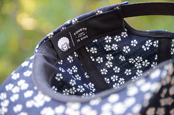 Fourth is King hat with japanese floral print. #pattern #headwear #hat #streetwear #fashion #logo #flowers