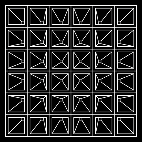 Vanishing Point #illusion #pattern #dimension #geometric #outline