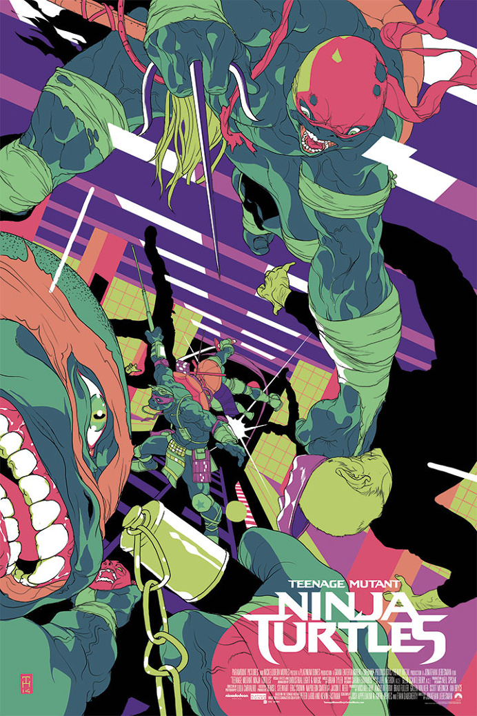 Teenage Mutant Ninja Turtles for Paramount, as part of the http://www.legendoftheyokai.com/ series, inspired by the TMNT move.