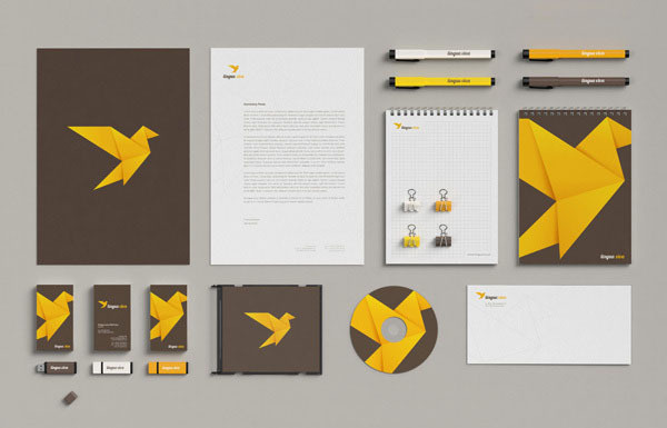 Lingua Viva - Language School Rebranding Case Study by Necon #branding #bird