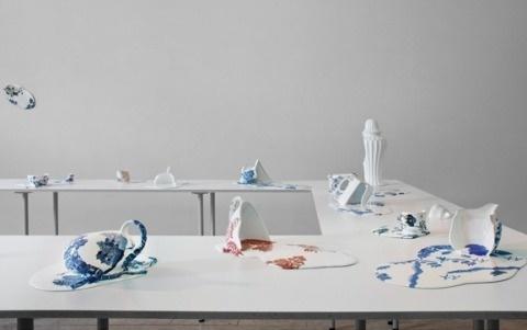Livia Marin   PICDIT #spatter #design #sculpture #art