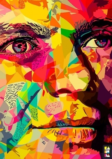 Abstract Colors on the Behance Network #colors #design #graphic