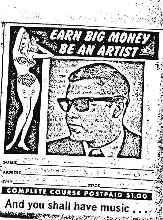 Be An Artist, by Dan Bina #ink #ny #bina #drawing #dan #art #york #paper #brooklyn #new
