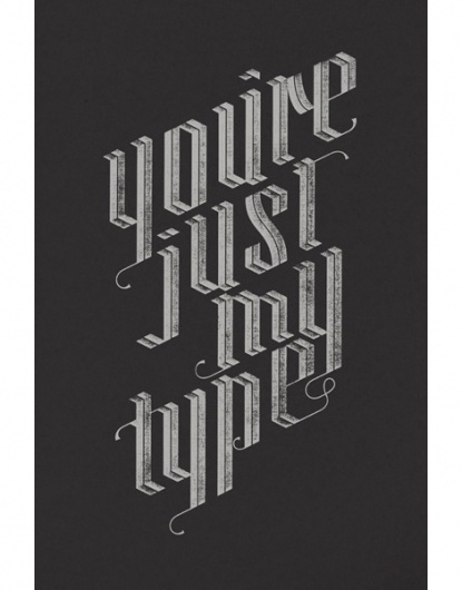 grain edit · Jude Landry #type #poster