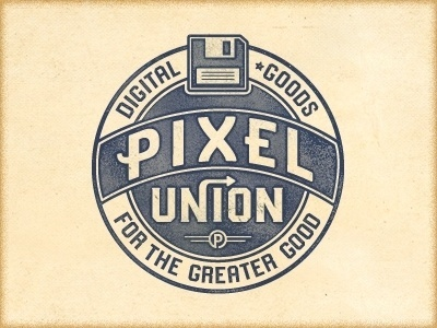 Dribbble - P2 Union Cut by Richie Stewart #type #logo #typography