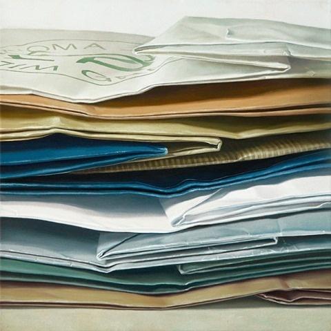 Jaye Schlesinger | PICDIT #bag #art #painting