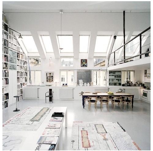 JJJJound #light #architecture #studio #white