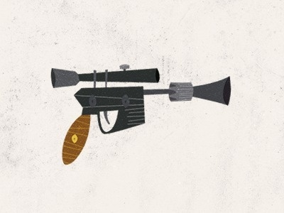 Dribbble - Weapon 01 by Rogie #gun #illustration #weapon