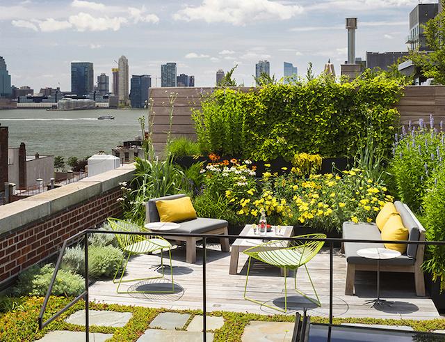 Amazing Loft with Rooftop in Manhattan – Fubiz™ #interior #design #decor #deco #decoration