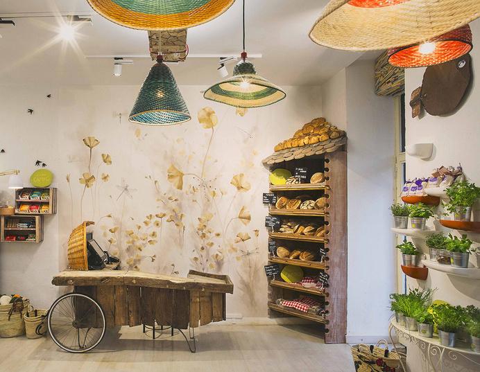 Mama Campo restaurant eclectic design with decors and pastel shades - www.homeworlddesign. com (3) #madrid #design #interiors #restaurant