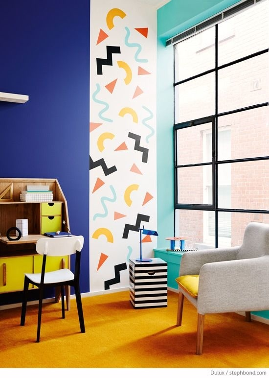 Lovely Image Result For Memphis Design Wall