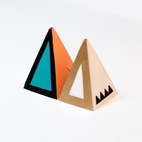 Geometric Boobs Pair A #sculpture #geometric #boobs #art #object