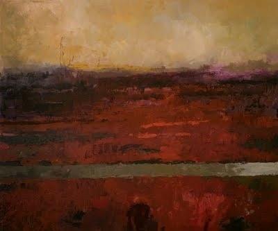 Marshland: Real brushwork #painting #pazera #lukasz #art