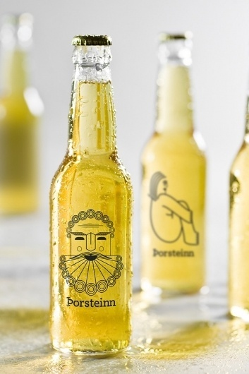 Thorsteinn Beer Brand on the Behance Network #packaging #beer