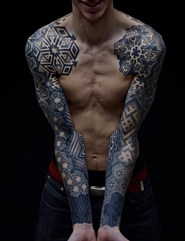 Nazareno Tubaro #tattoo #ink #geometric