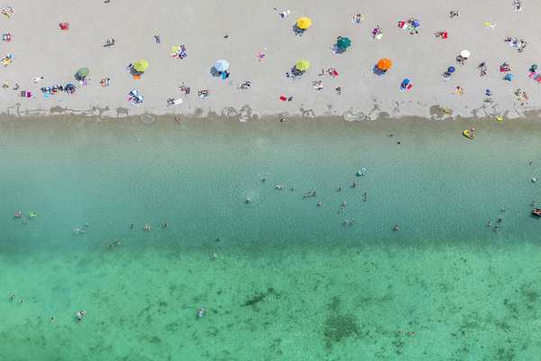 by Aerial Photography #summer #colors #beach