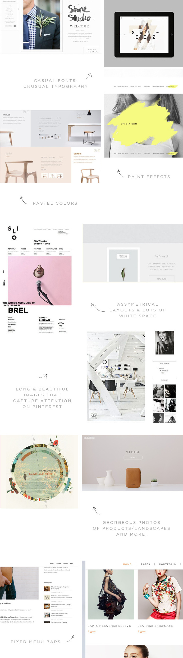 Web Design Trends & Inspiration #webdesign #webdesigner #inspire #inspiration #design