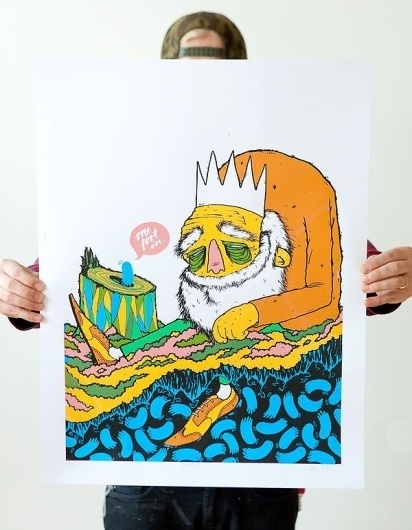 Screen Prints on the Behance Network #screen print