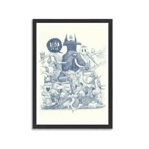 Blind Love by DULK #print #40x60cm