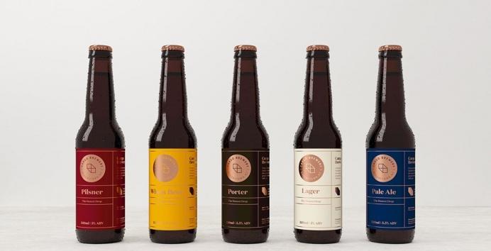 Cargo brewery beer branding from New Zealand design blog inspiration by www.mindsparklemag.com