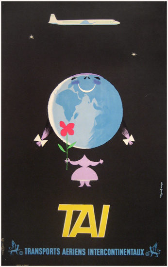 http://www.vintagepostersnyc.com/cgi local/db_images/posters/uploads/2739 image.jpg?103 #airplane #aeroplane #travel #tai #transport #poster #arien