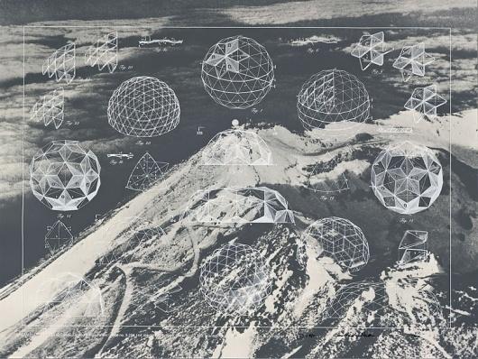 architecturebuckminsterfuller #geometry #drawing #geodesic #buckminster #dome #fuller