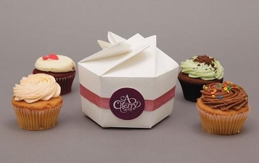 The Online Portfolio of Bec Heath #packaging #cupcakes #desgin #cakes