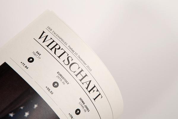 Ressort Wirtschaft #design #germany #newspaper #editorial #berlin