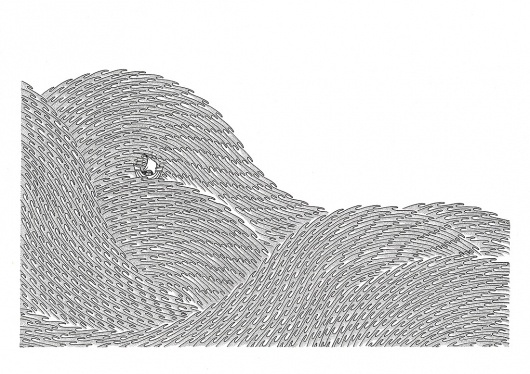 Tom Berry #white #black #berry #tom #sea #boat #art #drawing #detail