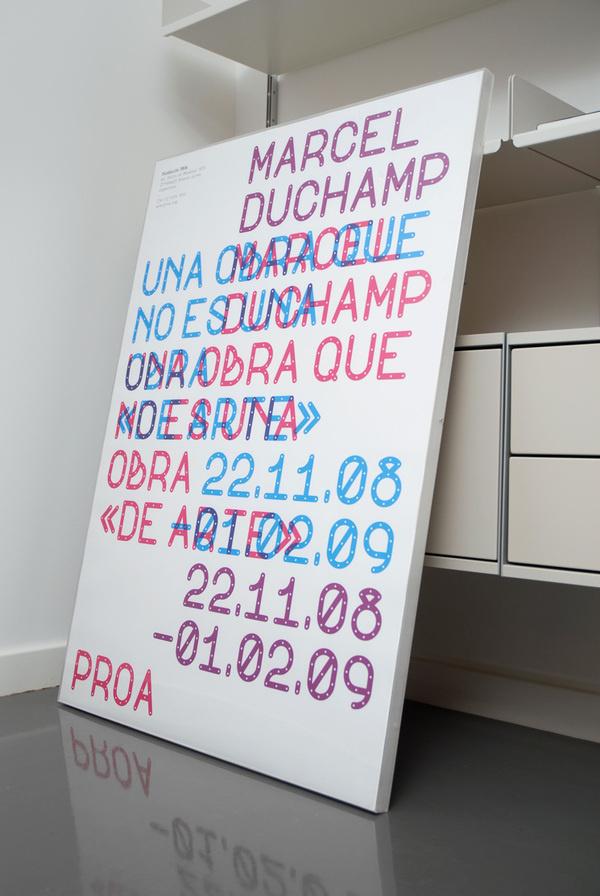 Spin (Tony Brook) — Marcel Duchamp Proa Poster (2008) #poster