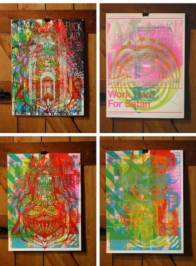 The Best of FPO 2010, Part III: Posters - FPO: For Print Only #print #silkscreen #color #poster