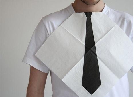7rano » Napkin #cool #white #simple #napkin #tie