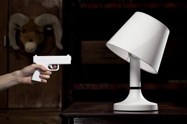 Bang! Desk Lamp From bitplay Inc #lamp #design #gadget #home