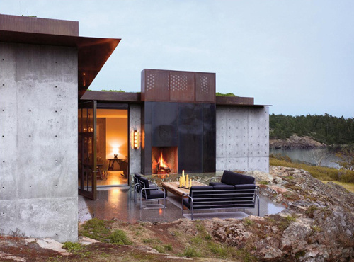 Hidden Home by Tom Kundig #architecture
